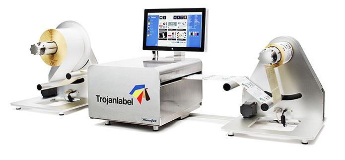 Új címkenyomtató a Trojantól:Szines, nagysebességű nyomtatás!
